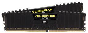 Corsair Vengeance LPX 16GB (2x8GB) DDR4 2666MHz CL16 Memory Kit - Black (CMK16GX4M2A2666C16)