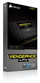 Corsair Vengeance LPX 64GB (8x8GB) DDR4 2666MHz CL16 Quad-Channel DIMMs - Black (CMK64GX4M8A2666C16)