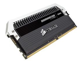 Corsair Dominator Platinum 32GB (4x8GB) DDR4 2666MHz CL15 Quad-Channel DIMMs - Black (CMD32GX4M4A2666C15)