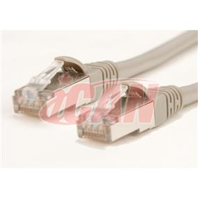 iCAN Cat6 STP shielded twist pair 550mhz UL patch cable - 50ft. (C6STP-050GRY)