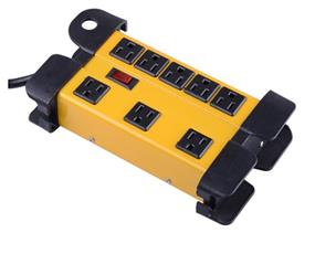 iCAN 8 Outlet Metal Power Strip