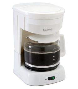 Continental 12-Cup Coffee Maker with Permanent Filter - White (CE23621)