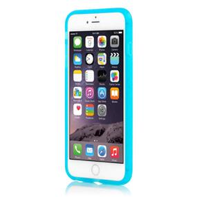 Incipio Octane Co-Molded Impact Absorbing Case for iPhone 6 Plus - Frost/Cyan (IPH-1216-FRSTCYN)