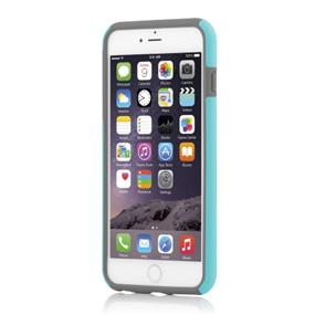 Incipio DualPro Case for iPhone 6 Plus - Cyan/Charcoal (IPH-1195-CYNGRY)