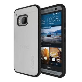 Incipio Octane Case for HTC One M9 Boston -Frost/Black (HT-417-FBLK)
