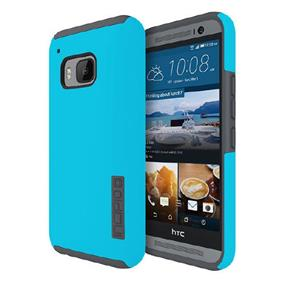 Incipio DualPro for HTC One M9 Boston - Light Blue/Charcoal (HT-416-BLCH)