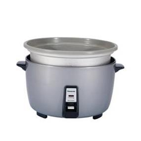 Panasonic SR-42FZ 23 Cup Large Capacity Commercial Rice Cooker with Non-Stick Pan - Silver (SR42FZ)