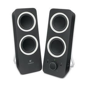 Logitech Z200 (Refurbished) - 2.0 Multimedia Speakers 5 watts RMS (Black) (980-000800R)