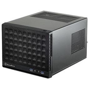 SilverStone Sugo SST-SG13B (Black, Mesh Front Panel) Mini-ITX Case