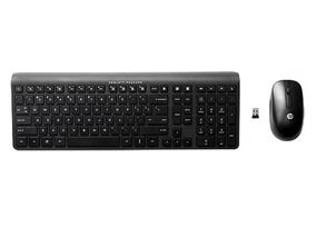 HP 2.4 GHz Wireless Keyboard and Mouse (G1K29AA)- Black