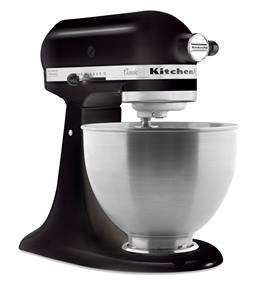 KitchenAid Classic Series 4.5-Quart Tilt-Head Stand Mixer - Onyx Black (K45SSOB)