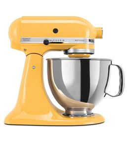 KitchenAid Artisan Series 5-Quart Tilt-Head Stand Mixer - Buttercup (KSM150PSBF)