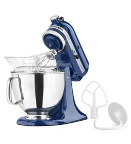 KitchenAid Artisan Series 5-Quart Tilt-Head Stand Mixer - Blue Willow (KSM150PSBW)
