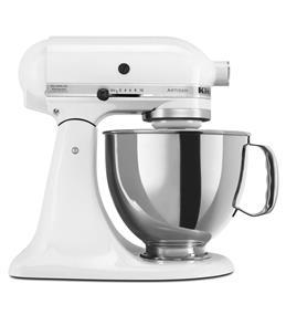KitchenAid Artisan Series 5-Quart Tilt-Head Stand Mixer - White (KSM150PSWH)