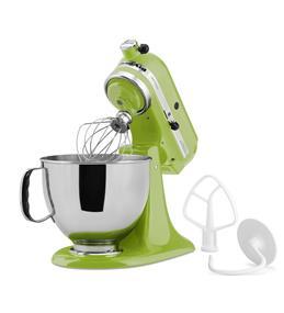 KitchenAid Artisan Series 5-Quart Tilt-Head Stand Mixer - Green Apple (KSM150PSGA)