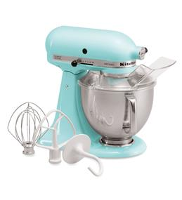 KitchenAid Artisan Series 5-Quart Tilt-Head Stand Mixer - Ice (KSM150PSIC)