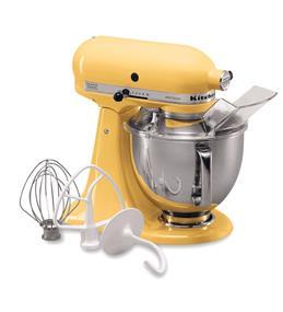 KitchenAid Artisan Series 5-Quart Tilt-Head Stand Mixer - Majestic Yellow (KSM150PSMY)