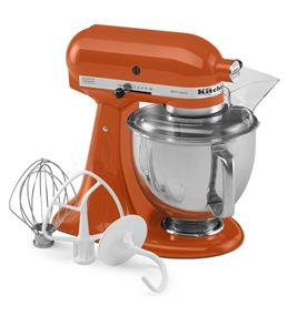 KitchenAid Artisan Series 5-Quart Tilt-Head Stand Mixer - Persimmon (KSM150PSPN)