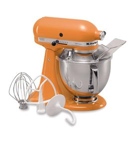KitchenAid Artisan Series 5-Quart Tilt-Head Stand Mixer - Tangerine (KSM150PSTG)