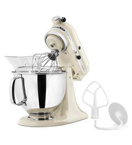 KitchenAid Artisan Series 5-Quart Tilt-Head Stand Mixer - Almond Cream (KSM150PSAC)