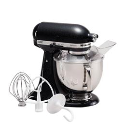 KitchenAid Artisan Series 5-Quart Tilt-Head Stand Mixer - Caviar (KSM150PSCV)