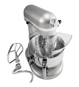 KitchenAid Professional 600 6-Quart 5.68 Litre Bowl-Lift Bowl Stand Mixer - Nickel Pearl (4KP26M1XNP)