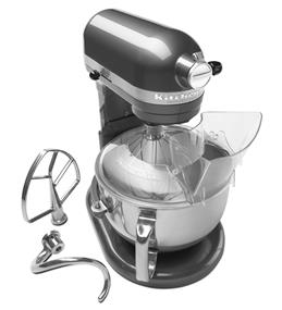 KitchenAid Professional 600 6-Quart 5.68 Litre Bowl-Lift Bowl Stand Mixer - Pearl Metallic (4KP26M1XPM)