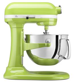 KitchenAid Professional 600 6-Quart 5.68 Litre Bowl-Lift Bowl Stand Mixer - Green Apple (KP26M1XGA)