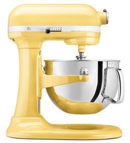 KitchenAid Professional 600 6-Quart 5.68 Litre Bowl-Lift Bowl Stand Mixer - Majestic Yellow (KP26M1XMY)