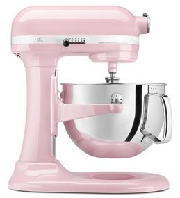 KitchenAid Professional 600 6-Quart 5.68 Litre Bowl-Lift Bowl Stand Mixer - Pink (KP26M1XPK)