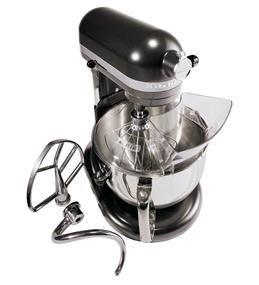 KitchenAid Professional 600 6-Quart 5.68 Litre Bowl-Lift Bowl Stand Mixer - Dark Pewter (KP26M1XDP)