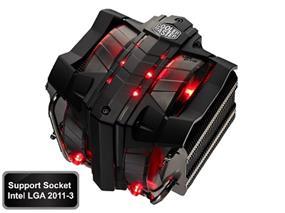 Cooler Master V8 CPU Cooler, LGA 2011-3/2011/1366/1156/1155/1150/775 and AMD FM2+/FM2/FM1/AM3+/AM3 /AM2 (RR-V8VC-16PR-R1)