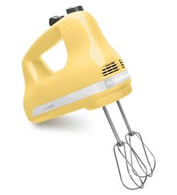 KitchenAid 5-Speed Ultra Power Hand Mixer - Majestic Yellow (KHM512MY)