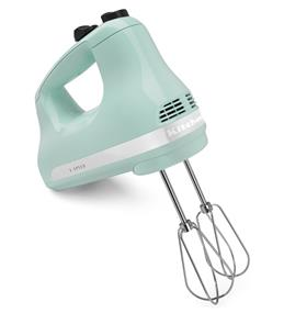 KitchenAid 5-Speed Ultra Power Hand Mixer - Ice (KHM512IC)