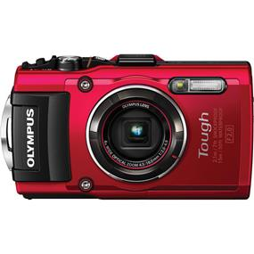Olympus Stylus TOUGH TG-4 - Digital Camera (Red)