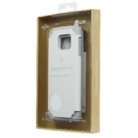 LBT DualKase Glass Samsung S6 White Case and tempered glass (S6DKWBK)