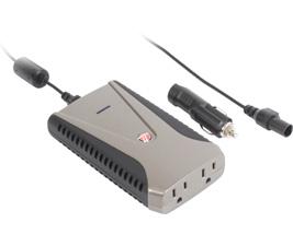 Targus APV12CA 150 Watte Auto/Aire Power Inverter - Slim Line (Black)