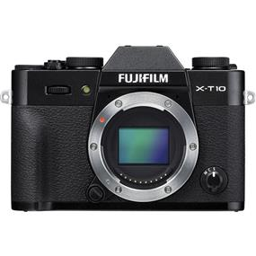 Fujifilm X-T10 - Mirrorless Digital Camera (Black, Body Only)