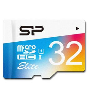 Silicon Power Elite 32GB Class 10 UHS-1 microSDHC Flash Card w/SD adapter Upto 85MB/s Read(SP032GBSTHBU1V20SP)