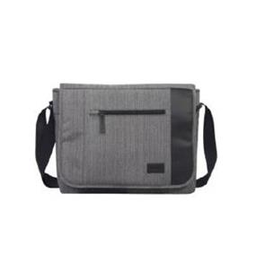 "KINGSLONG 14.1"" Notebook Messenger Bag, Linen Grey"