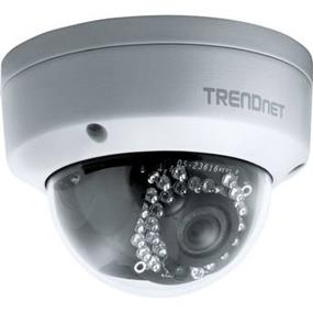 TRENDnet Outdoor 3MP Full HD PoE Dome Day/Night Network IP Camera (TV-IP311PI)