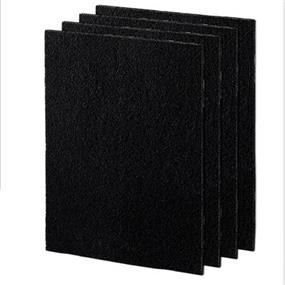 Fellowes Carbon Filters 4PK Large - Black (9324201)