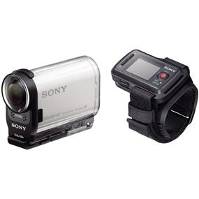 Sony HDR-AS200V/R - Action Cam Bundle with RMLVR2 Live-View Remote