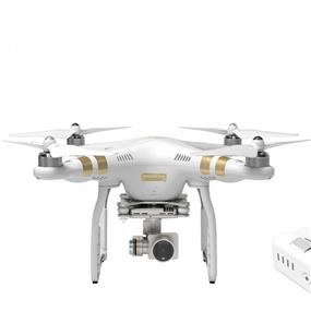 DJI Phantom 3 Professional Quadcopter with Gimbal-Stabilized 4K UHD Video Camera
