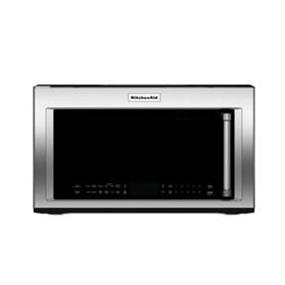 KitchenAid 950-Watt 1.9 cu.ft. 400 CFM Convection Over The Range Microwave with Convection Cooking - Stainless Steel (YKMHC319ES)