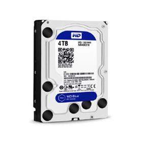 WD Blue SSHD 4TB Desktop Hard Disk Drive - SATA 6 Gb/s 64MB Cache 3.5 Inch - WD40E31X