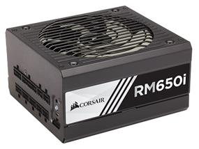 Corsair RMi Series RM650i Series 650W 80PLUS Gold Certified Fully Modular High Performance Power Supply (CP-9020081-NA)