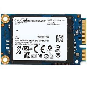 Crucial MX200 mSATA 500GB SATA Solid State Drive(CT500MX200SSD3)