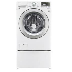 LG 5.0 cu.ft. 27 Inch Ultra Large Capacity Washer with 6 Motion Technology - White (WM3170CW)