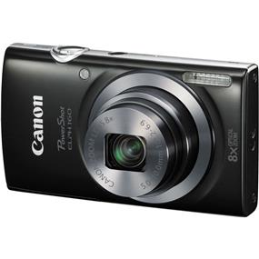 Canon PowerShot ELPH 160 - Digital Camera (Black)